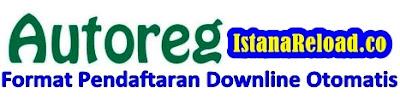 Cara Setting Format Pendaftaran Downline Otomatis (Autoreg) Istana Reload Agen Pulsa Online Termurah