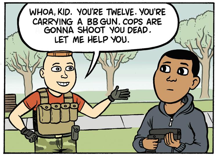 Maybe Let's Stop Killing Black Kids? by Matt Bors.