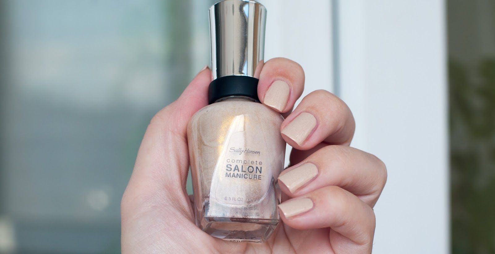 Лак для ногтей salon manicure sally hansen