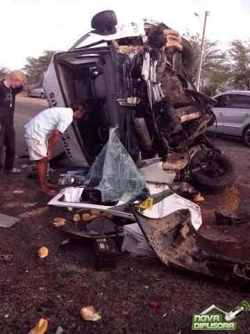Tragédia: Servidor da Cagece morre em acidente na BR 226, entre os municípios de Independência e Crateús