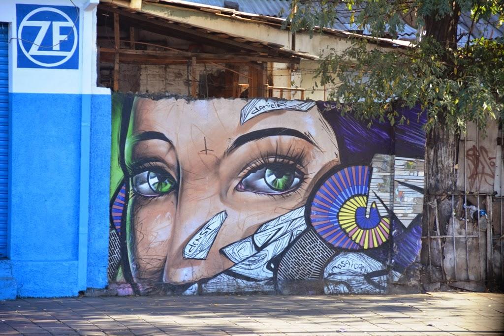 Santiago de Chile graffti