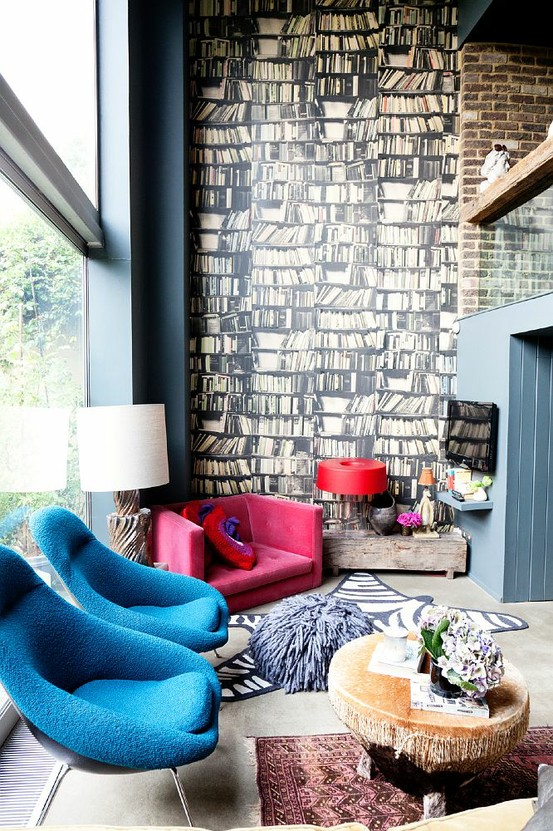 Pop culture and fashion magic home decor funky and modern for Funky decor for home
