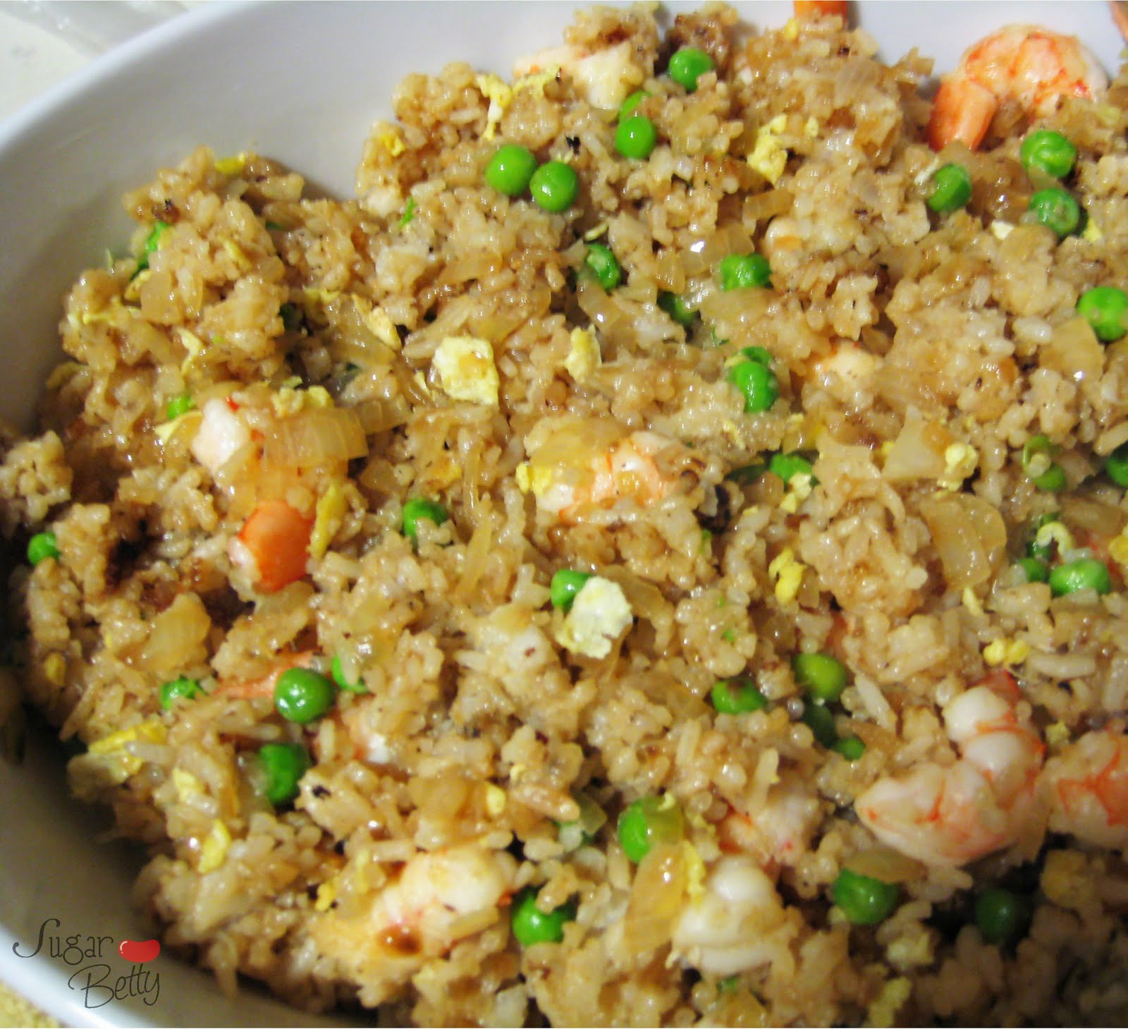 Shrimp Fried Rice Recipe — Dishmaps