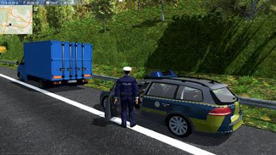 Free Download Autobahn Police Simulator PC Full Version