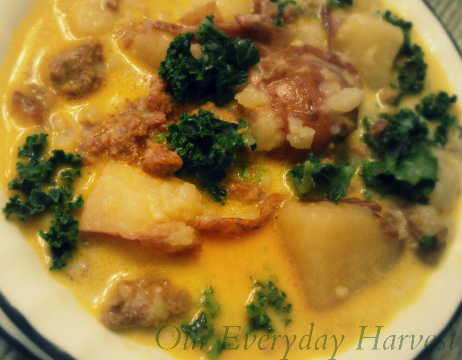 Slow cooker zuppa toscana just like olive garden crock - Olive garden zuppa toscana crock pot ...