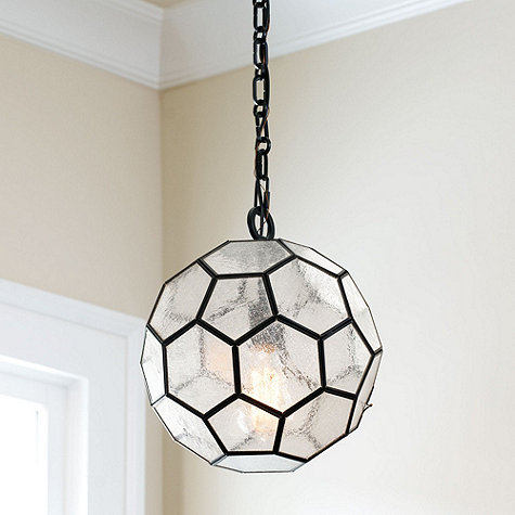 Honeycomb pendant light