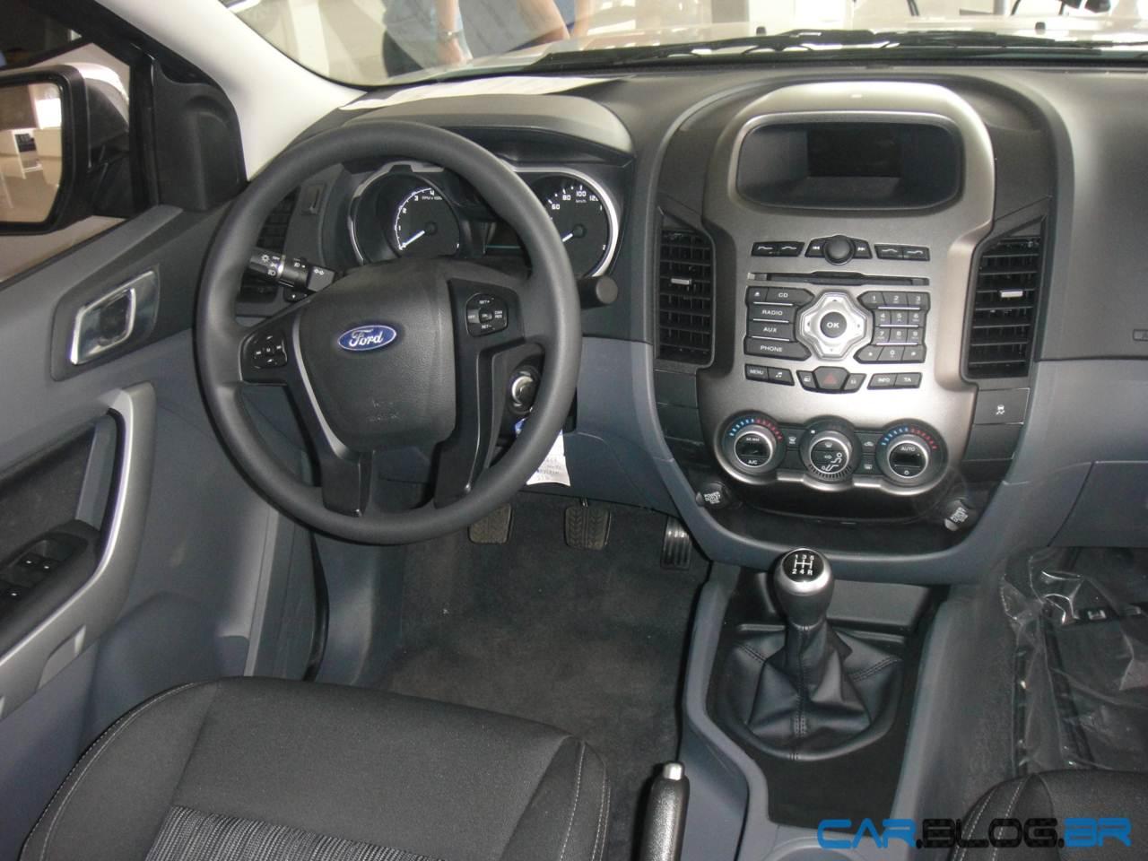 Ford ranger xlt flex interior