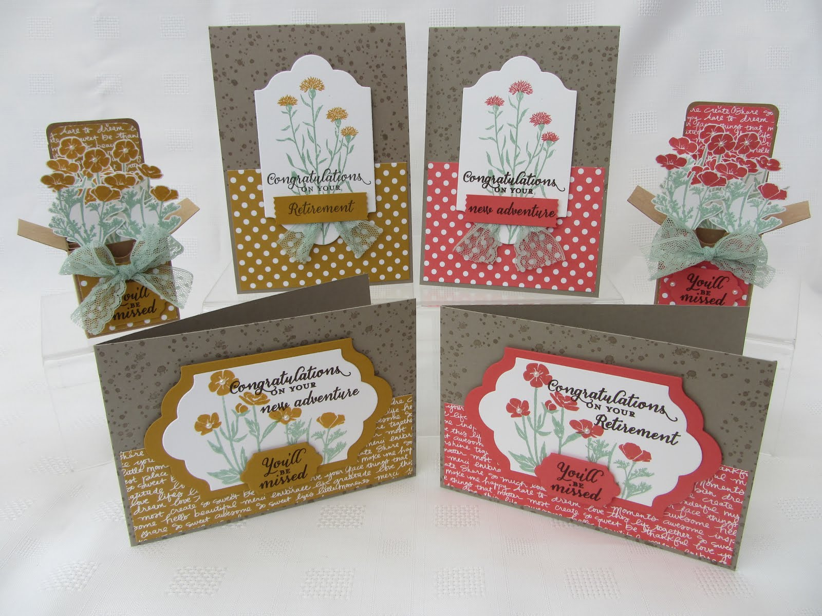 Wild about Flowers Stamp Class
