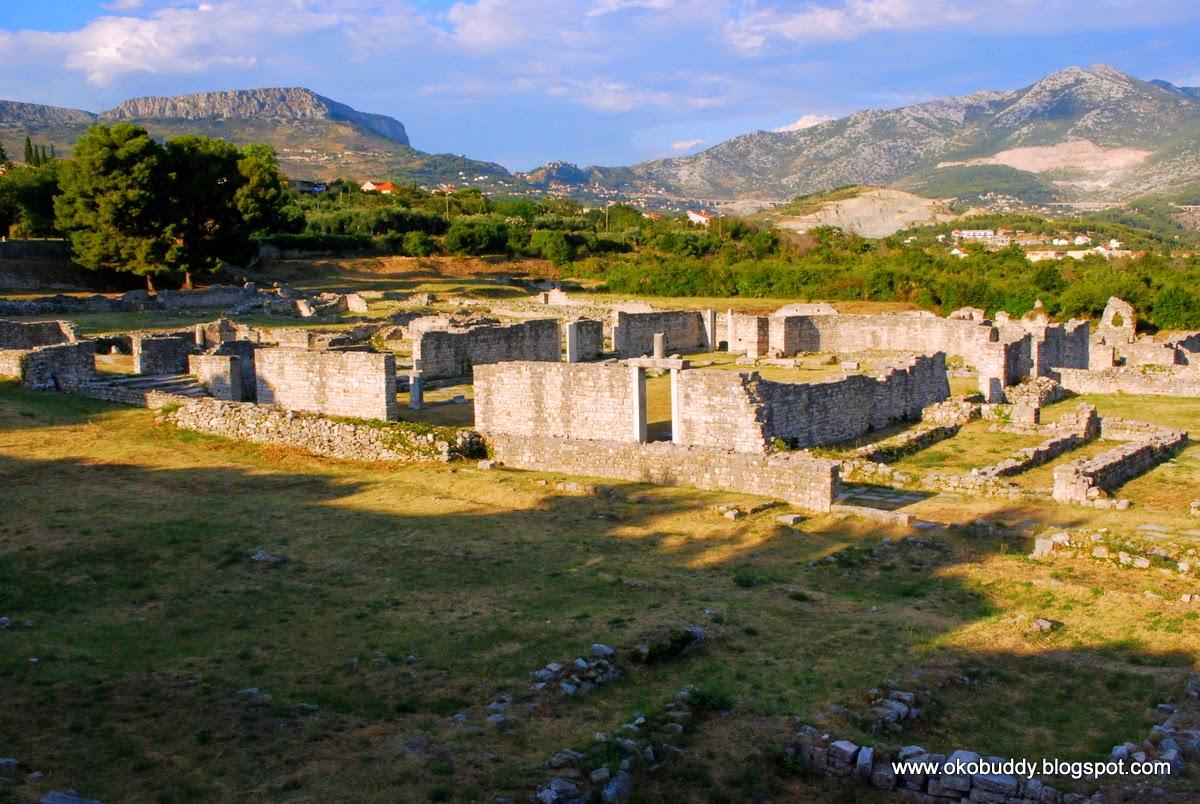 Solin, Ruiny Rzymskiego miasta Salona - Chorwacja