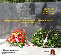 Conmemoración de la liberación de Europa del fascismo