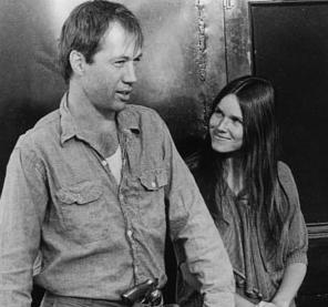 David Carradine and Barbara Hershey in Boxcar Bertha 1972