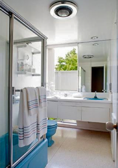 atomic ranch bathroom modern homes los angeles brentwood untouched 1960 mid century