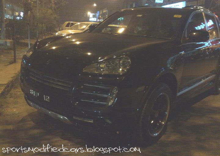 sports bazbiz  Porsche Cayenne S with JE Design Body kit Sialkot