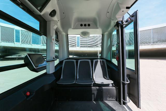 gambar bus wepod EZ10 bagian dalam