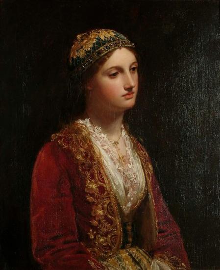 The albanian girl
