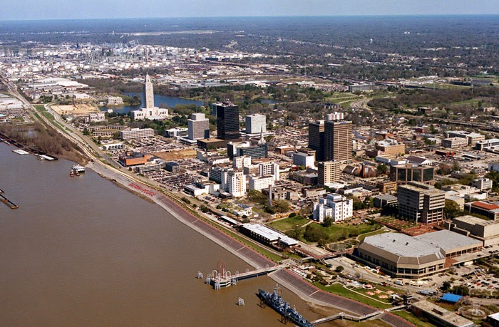 Baton Rouge Waterfront Area
