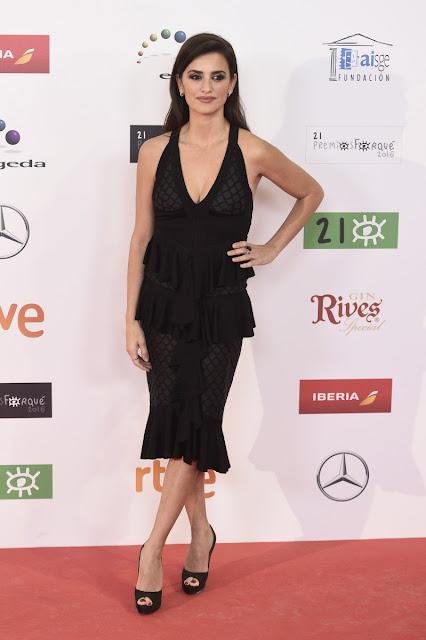Penélope Cruz vestida de Balmain en los Premios Forqué, enero 2016