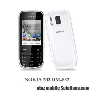 NOKIA 203 RM-832 V 20.52 Flash File Free Download