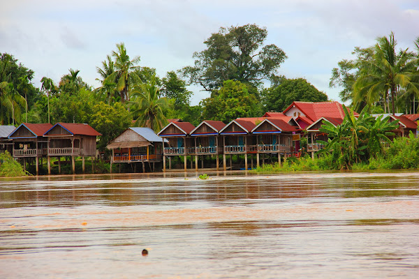 Bungalow 4000 islands (Laos)