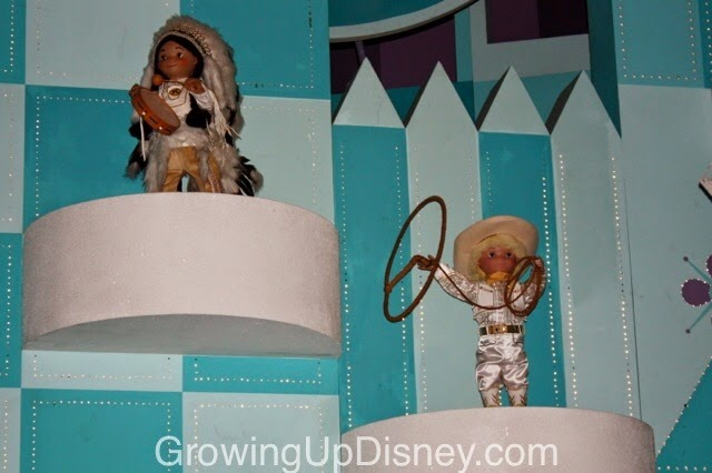 it's a small world, magic kingdom, walt disney world, american dolls