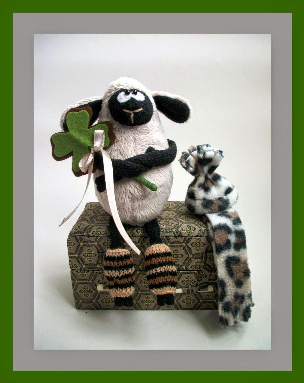 интерьерная игрушка овечка 2015