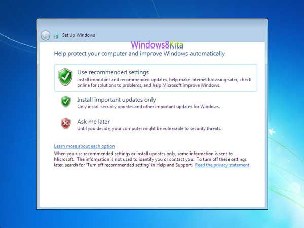 Panduan Cara Instal Windows 7 step 24