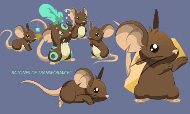 Ratones de Transformice!!