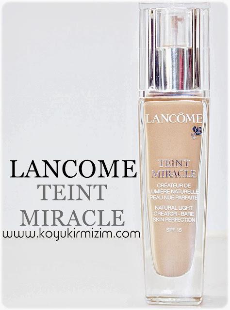 Lancome Teint Miracle Fondöten