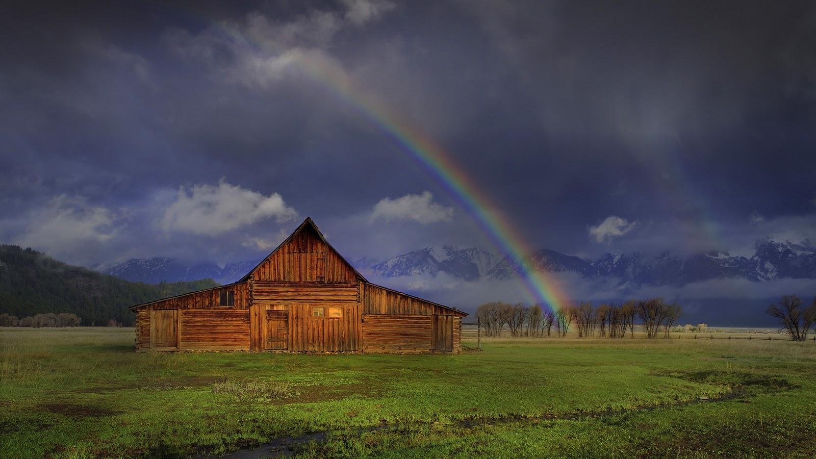 Funnnnnnny Walpaperz Beautiful Rainbows And Lightnings