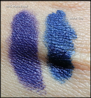 MAC - The Matte Lip Collection 2015 - Matte Royal - Confronti