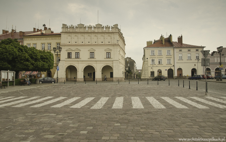Jarosław, Poland. A charming town and its architecture.