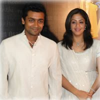 Surya and Jyothika Latest Photos