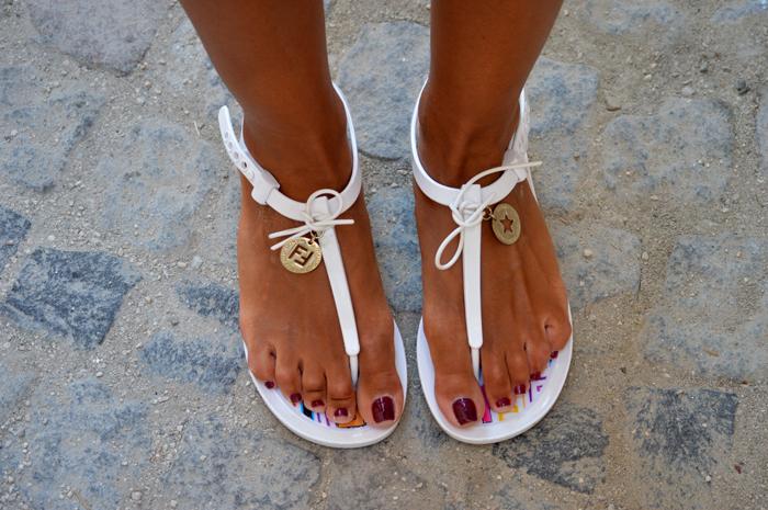 Fendi sandalet