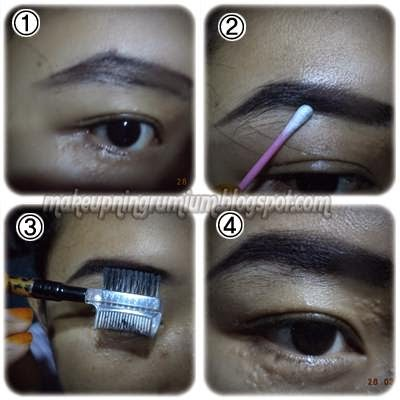 Makeupningrumium Tips Membuat Alis
