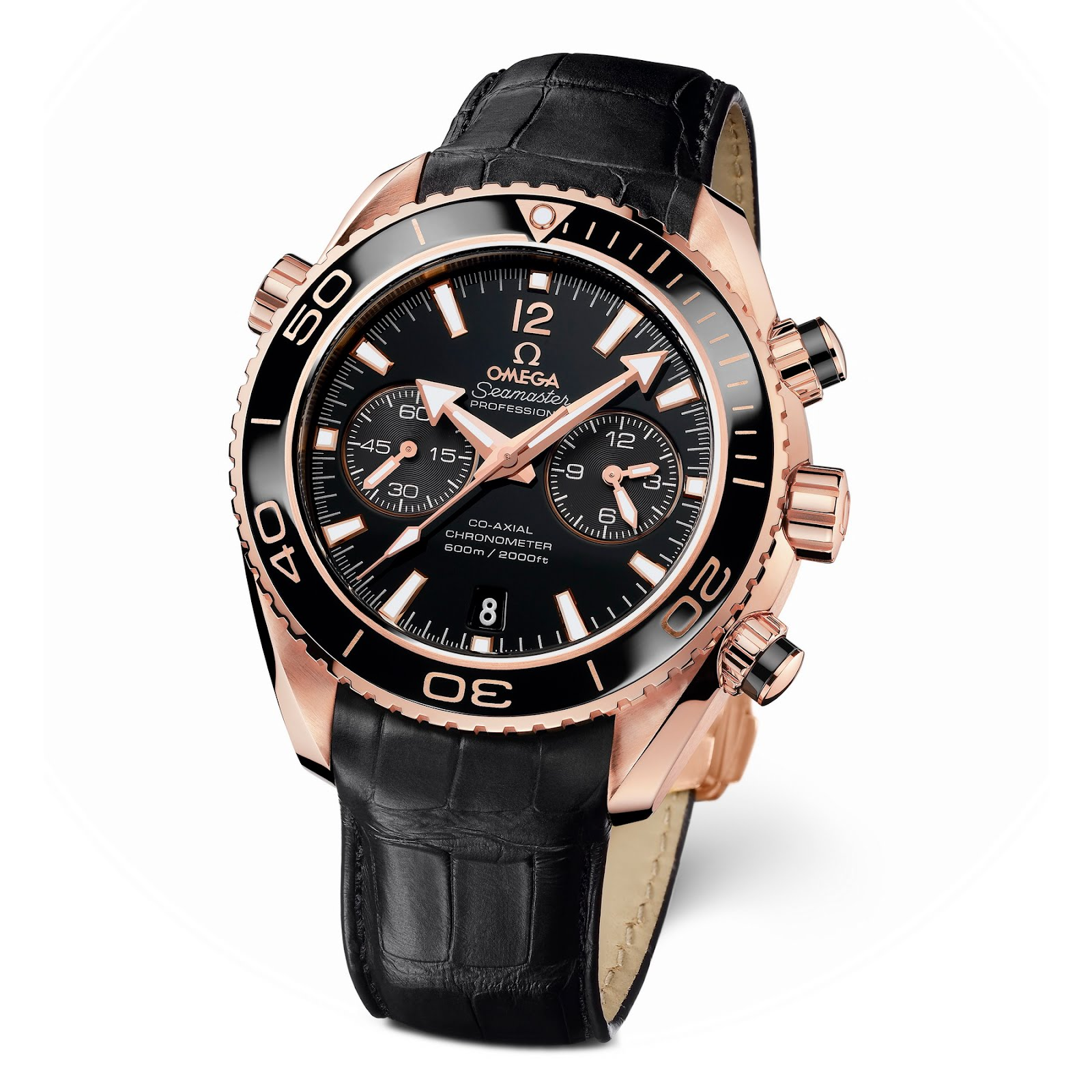 OMEGA Seamaster Planet Ocean CERAGOLD  - Luxury Watches aa150a0a9b