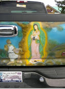 on an Oklahoma truck