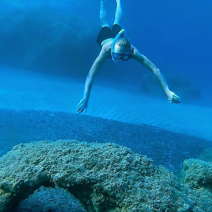 Snorkeling. Morze Egejskie