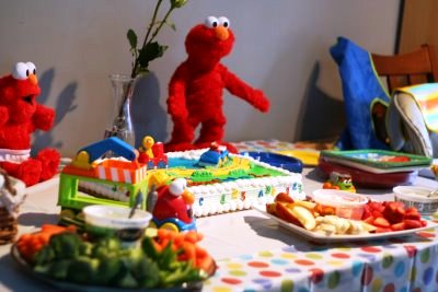 Elmo Themed Birthday Party Ideas