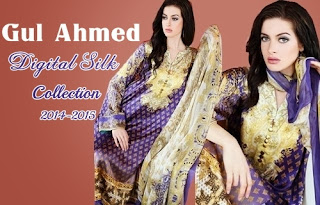 Gul Ahmed Digital Prints