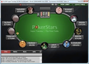 8/9/11 Super Tuesday final table