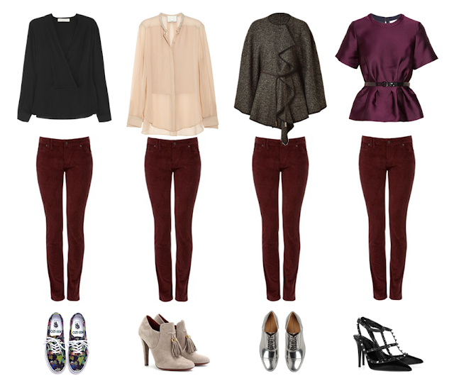Partymixtape how to wear burgundy pants