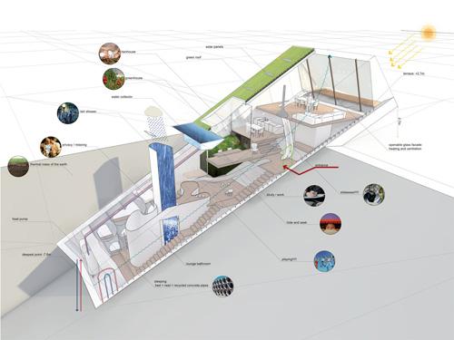 Hidden House Concept