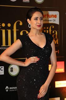 Actress Pragya Jaiswal Pictures in Black Dress at IIFA Awards 2016  252820.jpg