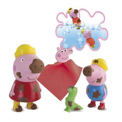 JUGUETES - Peppa Pig - Peppa y George Manchitas Mágicas | IMC Toys 2015 | Comprar