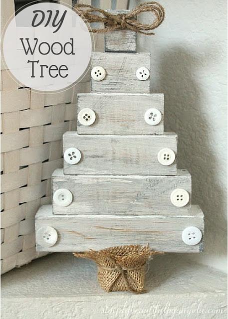 Simply Beautiful by Angela DIY Wood Christmas