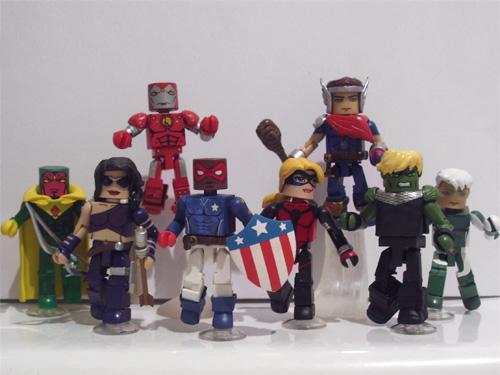 Young Avengers Minimates