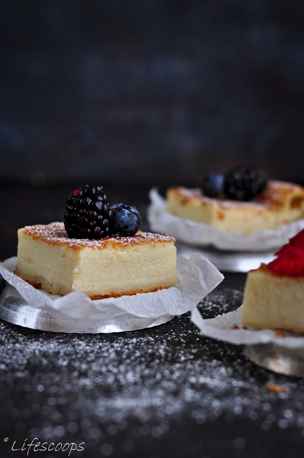 Easy Magic Custard Cake