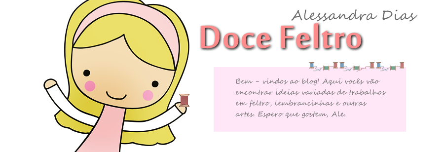 Doce Feltro | Ale Dias