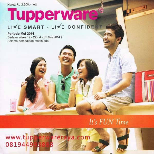 Katalog Tupperware Promo Mei 2014 Cover
