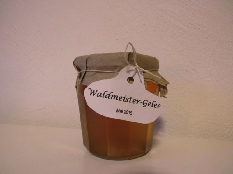 Waldmeister-Gelee